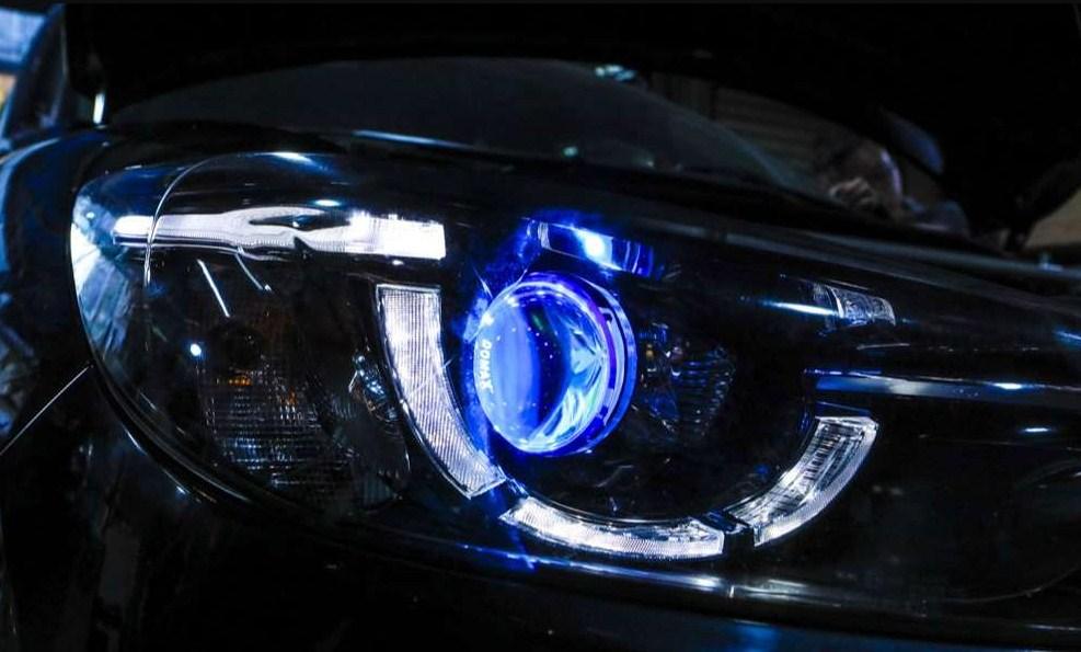 Độ đèn xe siêu xịn cho chiếc Vinfast Fadil