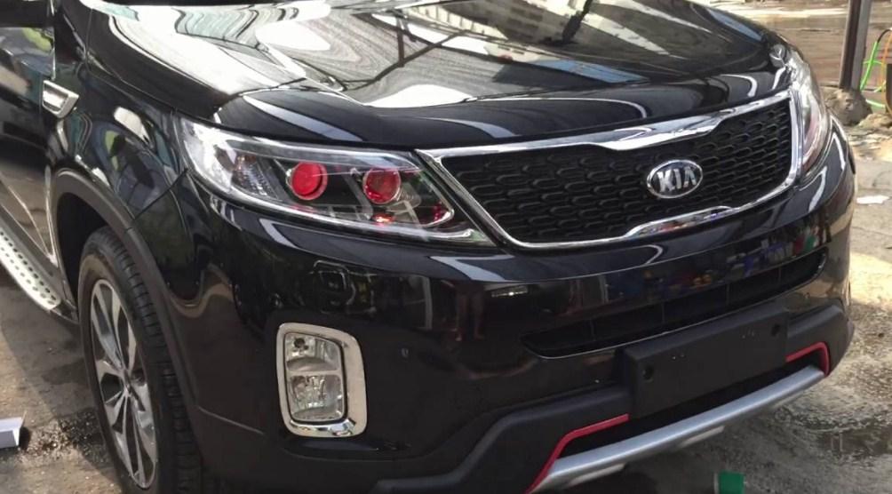 Độ đèn xe Kia Sorento giúp tăng khả năng quan sát và hạn chế rủi ro