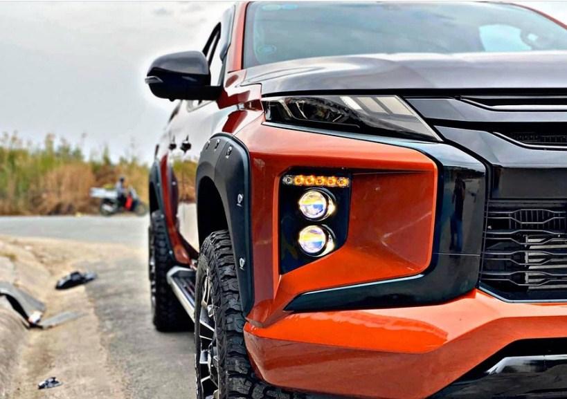 Độ đèn xe ô tô Mitsubishi Triton