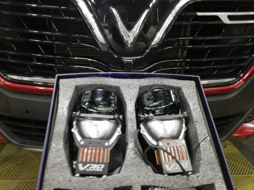 Độ đèn giúp nâng tầm ánh sáng cho xe Vinfast SA