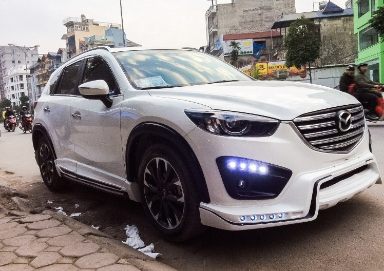 Độ đèn xe cho Mazda CX5