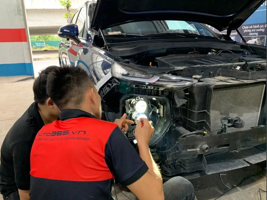 Độ đèn ô tô uy tín hãy đến Auto365 Mỹ Đình - Hà Nội