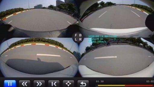 Camera 360 độ ElliView V5-S trang bị cho xế yêu thêm sang trọng và hiện đại