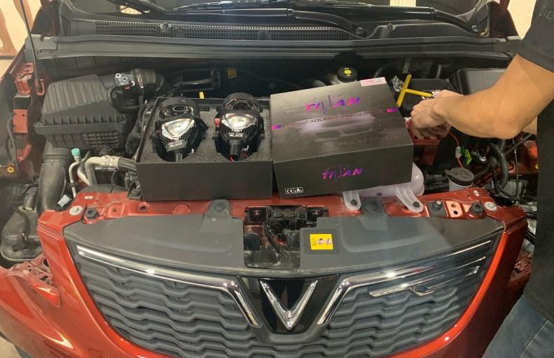 Lắp đặt Bi Led Titan Black uy tín tại Auto365 Mỹ Đình - Hà Nội