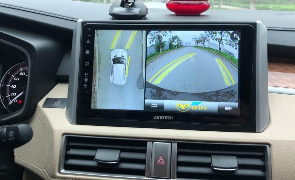 Lắp camera 360 giúp tài xế quan sát bao quanh xế yêu