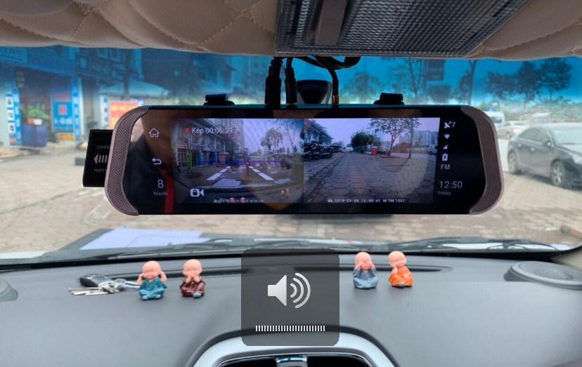 Lắp đặt camera hành trình cho xe Kia Soluto