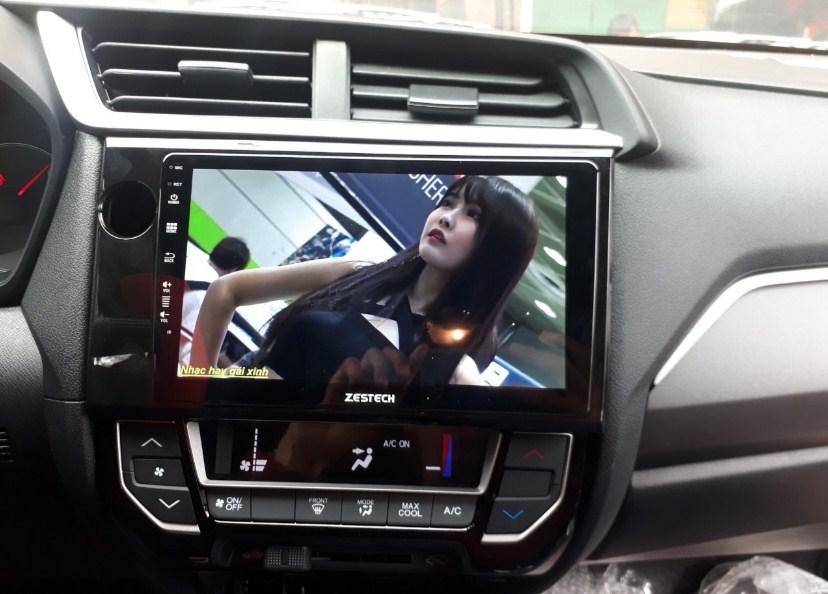 Màn hình Android cho xe Honda Brio
