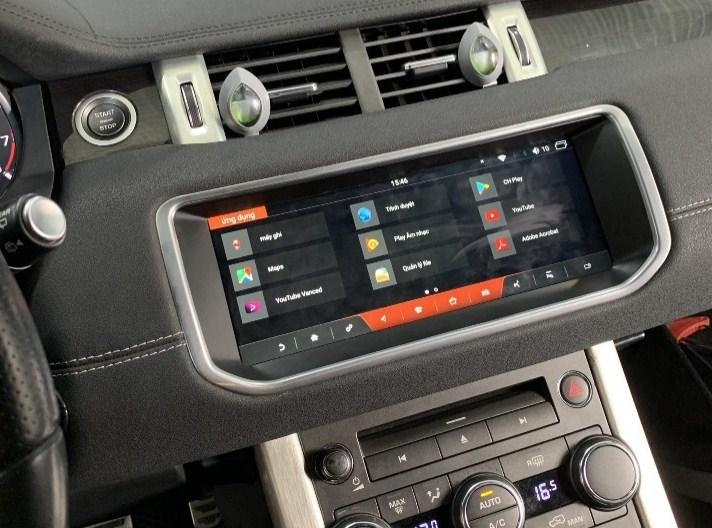 Lắp đặt màn hình android cho xe Range Rover