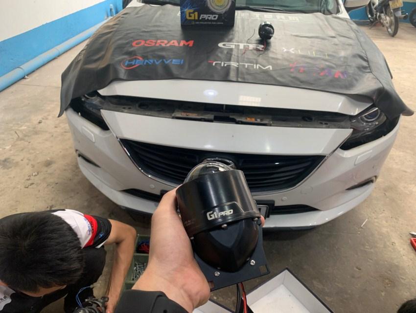 Độ đèn xe ô tô có bị phạt không?