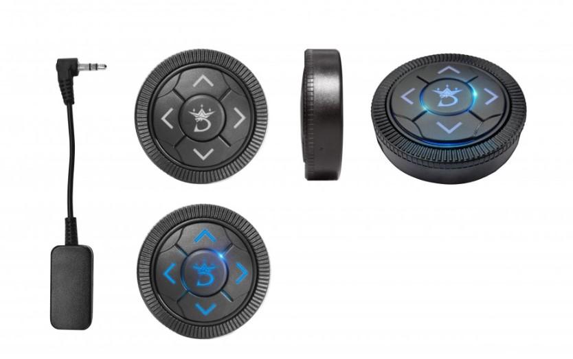 Hỗ trợ điều khiển bằng nút bấm Bluetooth thông minh