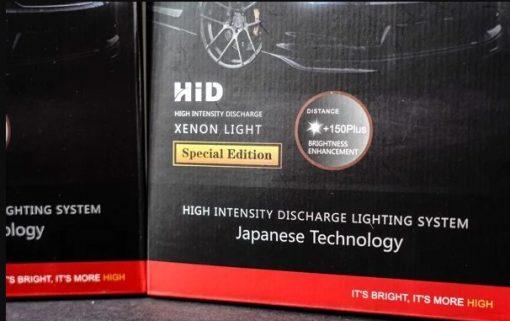 Lắp đặt Kit xenon và ballast GTR 45w tăng sáng 150% Plus uy tín tại Auto 365 Mỹ Đình - Hà Nội