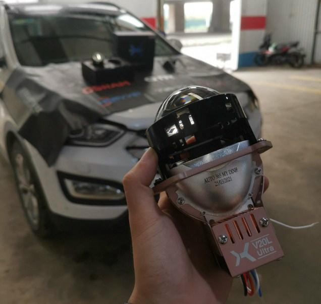 Độ đèn bi laser ô tô uy tín tại Auto365 Mỹ Đình – Hà Nội