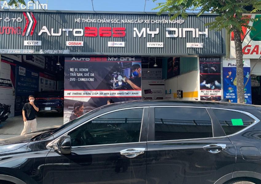 Đến auto365 Mỹ Đình - Hà Nội để dán phim cách nhiệt cho ô tô uy tín