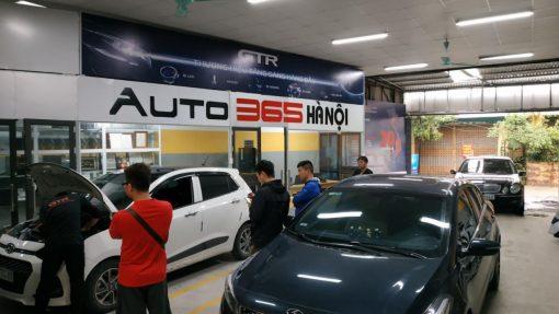 auto365mydinh dang lap camera 360 o to cho khach hang