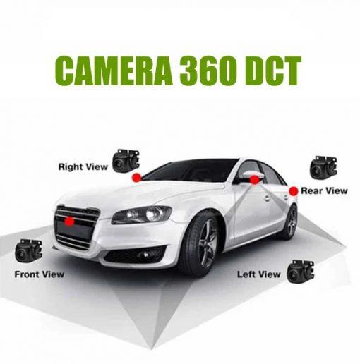 Cấu tạo của camera 360 cho xe hơi