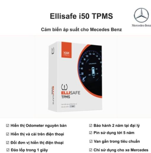 Ellisafe i50 tpms cho mecedes
