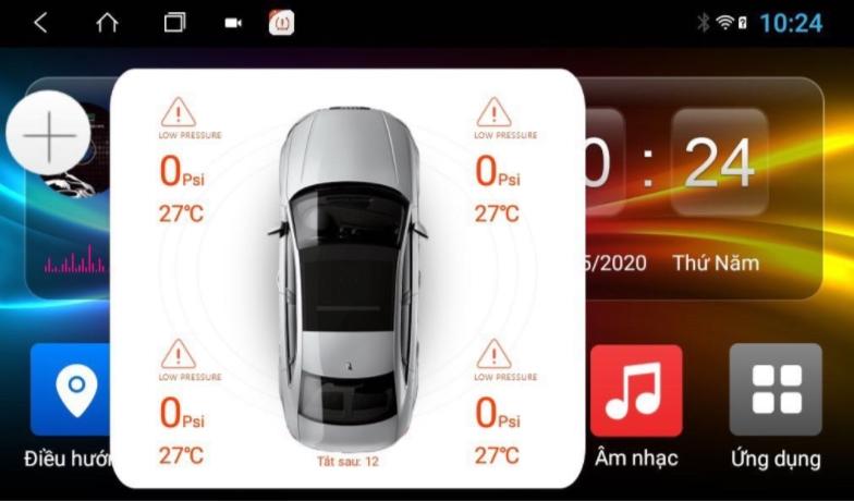 Cảm biến áp suất lốp Android 5 van – Ellisafe ADI5 kết nối USB sở hữu nhiều tính năng nổi bật