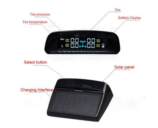 Cảm biến áp suất lốp năng lượng mặt trời TN402 là dòng cảm biến đến từ thương hiệu iCar