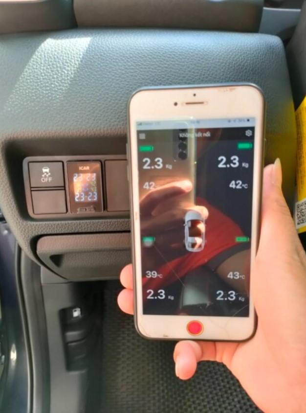 Hiển thị điện thoại Cảm biến áp suất lốp C398/397