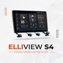 Màn Hình Android Elliview S4 Deluxe [4GB/64GB + Camera 360]